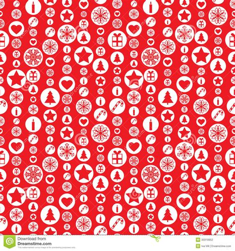 christmas pattern red and white christmas seamless pattern stock photography image 35919952