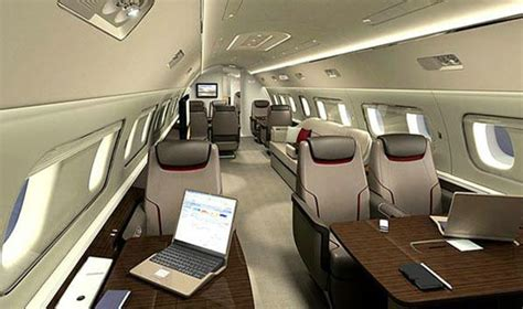 Lineage 1000 Interior by Charter An Embraer Lineage 1000e Jet Charter Plc