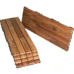 Interlocking Patio Flooring by Flexdeck Interlocking Deck Tiles 12 X 36 Set Of 5 In