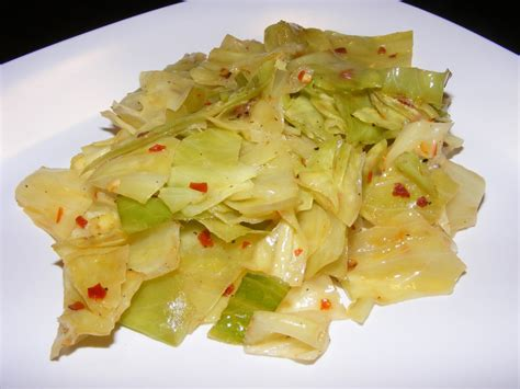 the recipe review spicy steamed cabbage