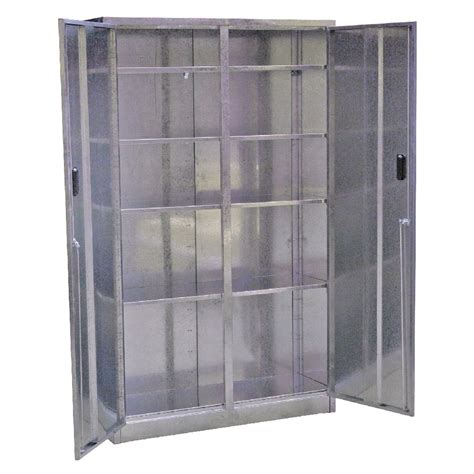 extra large storage cabinets sealey galvanized steel floor cabinet 5 shelf extra wide