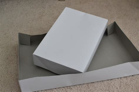 How To Make A Box With Lid Out Of Paper - laforce be with you how to make a whole box out of a