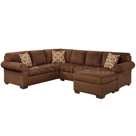 Microfiber U Shaped Sectional Sectional Sofas Exceptional Designs By Flash Patriot Chocolate Microfiber U Shaped Sectional
