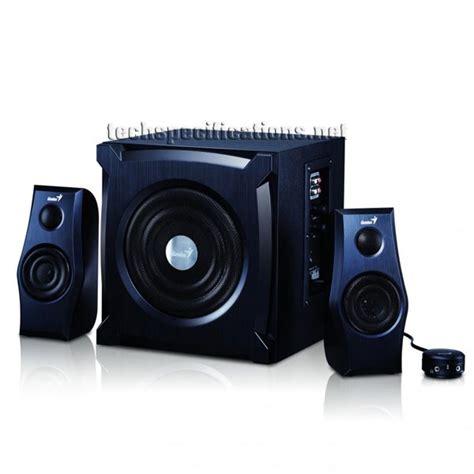 Speaker Komputer Genius Genius Sw 1800 2 1 Pc Speakers Tech Specs