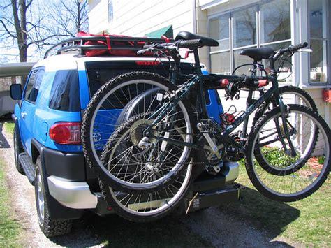 Fj Bike Rack by Hitch Mounted Bike Rack Toyota Fj Cruiser Forum