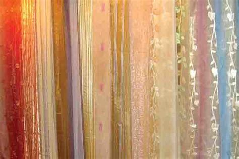 sheer curtain material china voile sheer window screening decorative