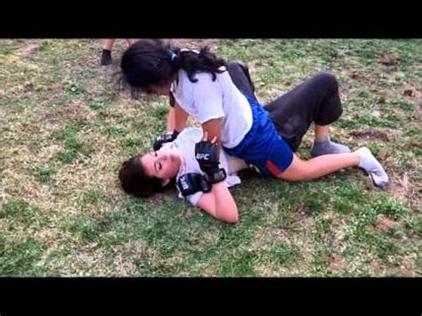 backyard mma fights backyard mma bfo1 tanya vs triana youtube