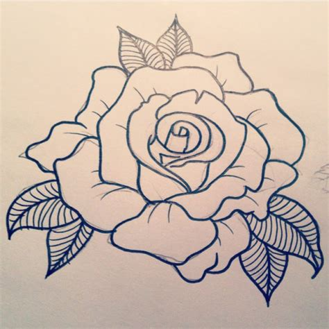 tattoo flash how to draw rose tattoo designs google search pinteres