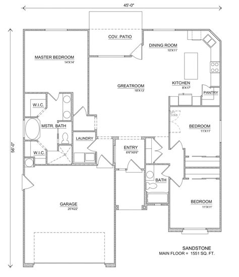 home design and layout sandstone house floor plans perry homes