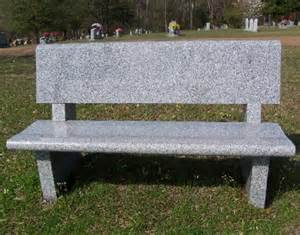 cemetery benches prices granite cemetery benches headstones grave markers