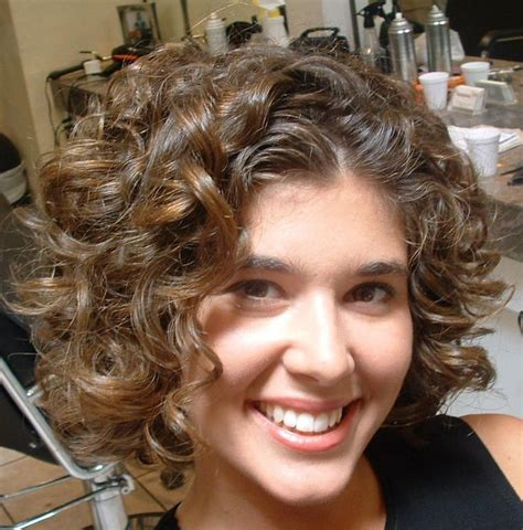 short permed stacked hairstyles retro stacked spiral perm hairstyles and other quirky