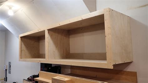 Wall Hung Kitchen Cabinets by Wall Mounted Storage Cabinet In One Day Youtube