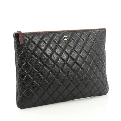 Chanel Oversized Clutch Lilac buy chanel o clutch quilted caviar large black 1856702 trendlee