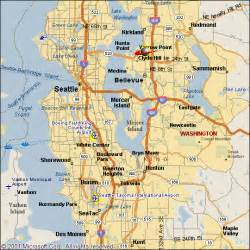 Seattle Area Map by Seattle University Center