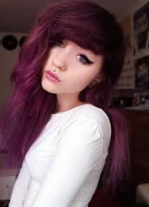 grunge hair colors purple grunge soft grunge hair huuurrrr