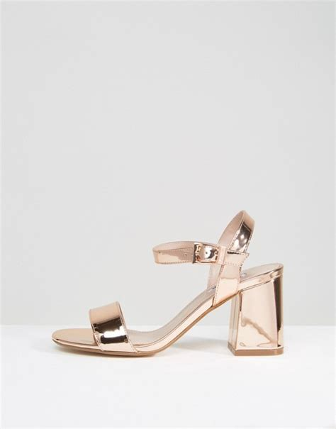 gold block heel sandals womens dune mylo gold block heel sandals gold