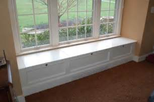 Window Seat Storage Bench Diy Window Seat Withheart Bench With Storage