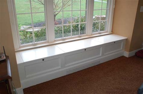 window with bench diy window seat withheart bench with storage