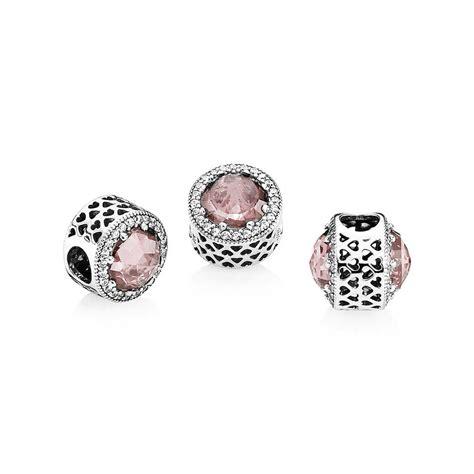 Can I Buy A Pandora Gift Card Online - blush pink pandora radiant hearts silver charm pandora estore