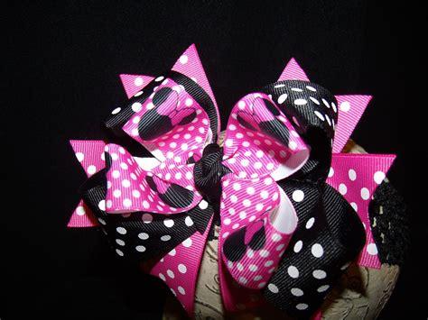 the colors hair bow ideas