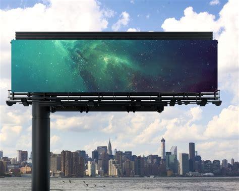 billboard mock up design psd file free download