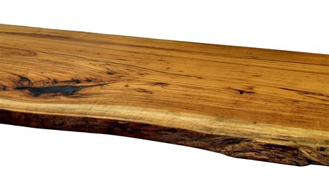natural wood desk top natural edges wane edges on custom wood countertops and