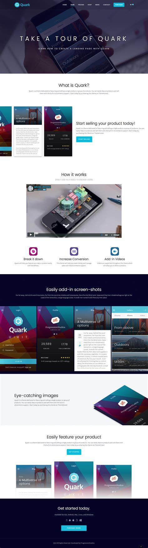 theme wordpress quark quark single product ecommerce theme by