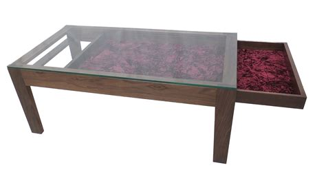 Coffee Tables Ideas: glass display coffee table design