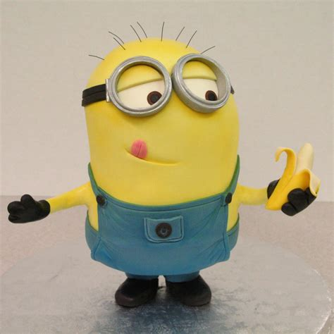 imagenes minions banana this despicable minion is a banana cake
