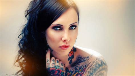 hot tattooed girl wallpaper hd wallpapersafari