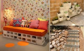 Backyard Living Magazine by 10 Creative Ideas To Decorate With Concrete Blocks Home