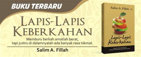 Salim Afillah Lapis Lapis Keberkahan lapis lapis keberkahan salim a fillah pro u