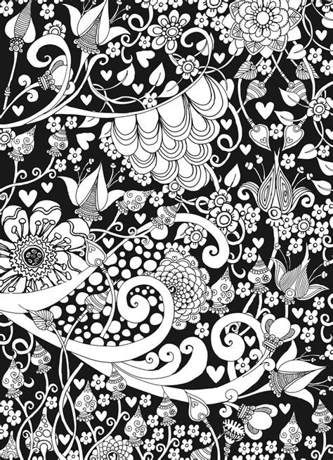 Welcome To Dover Publications Kolorista Fanciful Faces Coloring Book