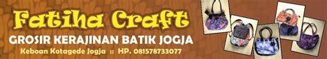 Batik Faiha by Fatihacraft Grosir Kerajinan Batik Jogja
