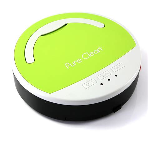 pure clean pucrc home  office robot vacuum cleaners