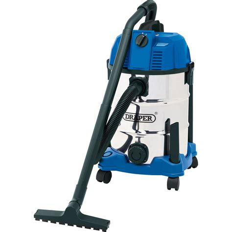 Vacuum Cleaner Krisbow 30 L draper 30l vacuum cleaner with stainless steel