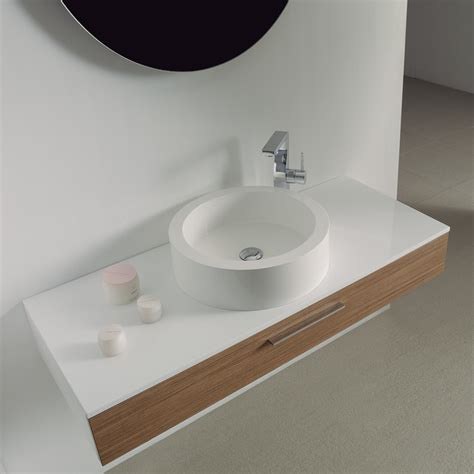 Contemporary Bathroom Vanity Units Vogue Large Wall Mounted Designer Bathroom Vanity Unit 1200 Contemporary Bathroom
