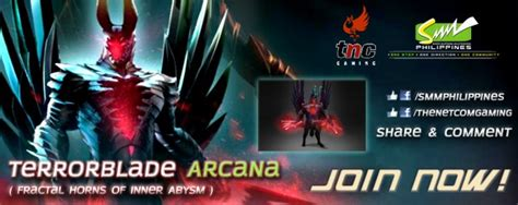 Dota2 Giveaway - smm philippines and tnc gaming are giving away a quot fractal horns of inner abysm