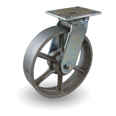 cast iron wheel  spokes industrial caster