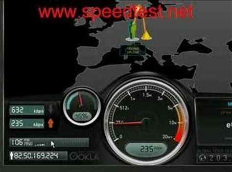 velocit 224 adsl misura la banda della connessione