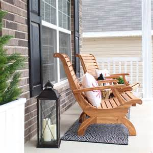 Front Porch Furniture Sets Front Porch Makeover How To Nest For Less