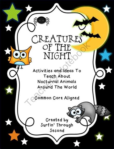 printable nocturnal animal masks 57 best nocturnal animal crafts images on pinterest