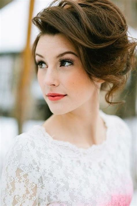 hairsyles worn up 30 ways to style short hair for your wedding bridal musings