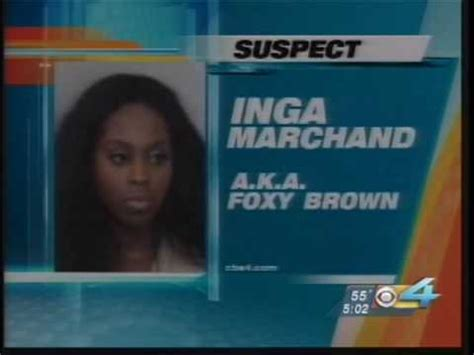 Foxy Brown Arrested by Shomari Reports Foxy Brown Arrested