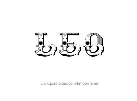 leo tattoo lettering leo horoscope name tattoo designs page 4 of 5 tattoos