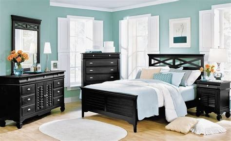 Plantation Cove Black Bedroom Collection Value City Plantation Cove Bedroom Furniture