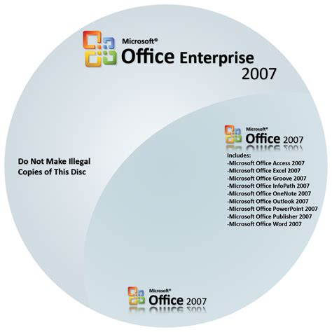 Cd Microsoft Office 2007 update all in one microsoft office enterprise 2007 visio professional project professional