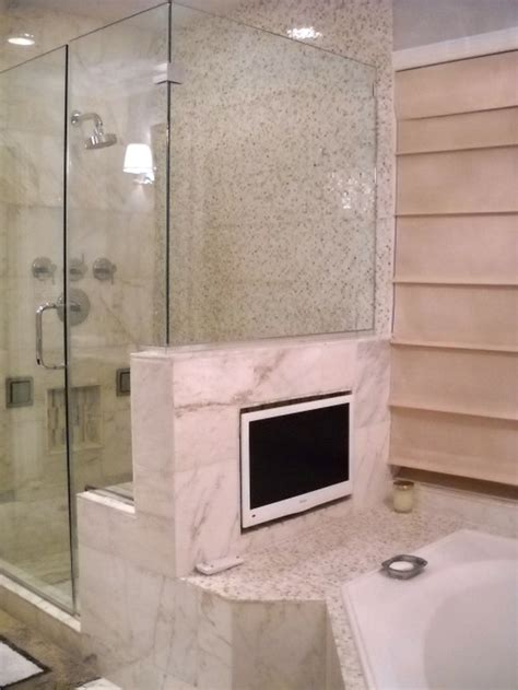 tv in a bathroom bathroom ideas for a spa like feel mohawk homescapes