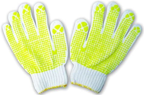 Sarung Tangan Safety sell polkadot safety gloves from indonesia by pt aim safety cheap price