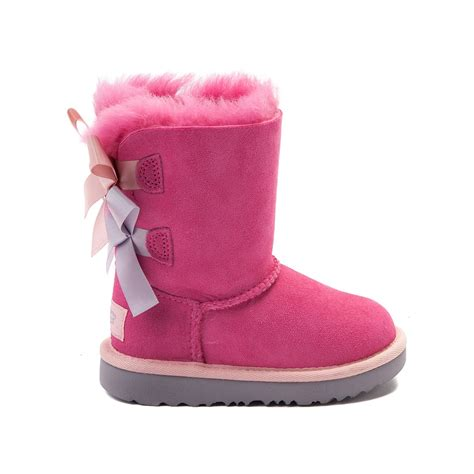 pink ugg boots with bows toddleryouth ugg 174 bailey bow ii boot pink 99581630